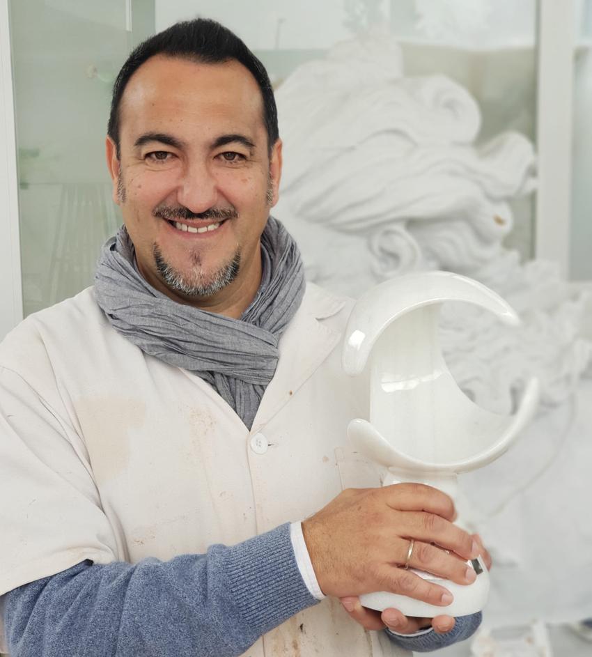 Entrevista al escultor Navarro Arteaga